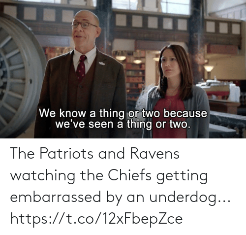 Football, Nfl, and Patriotic: The Patriots and Ravens watching the Chiefs getting embarrassed by an underdog... https://t.co/12xFbepZce