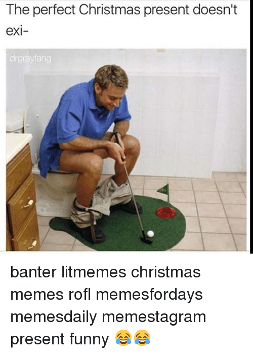 christmas funny and memes the perfect christmas present doesnt exi drgrayfang