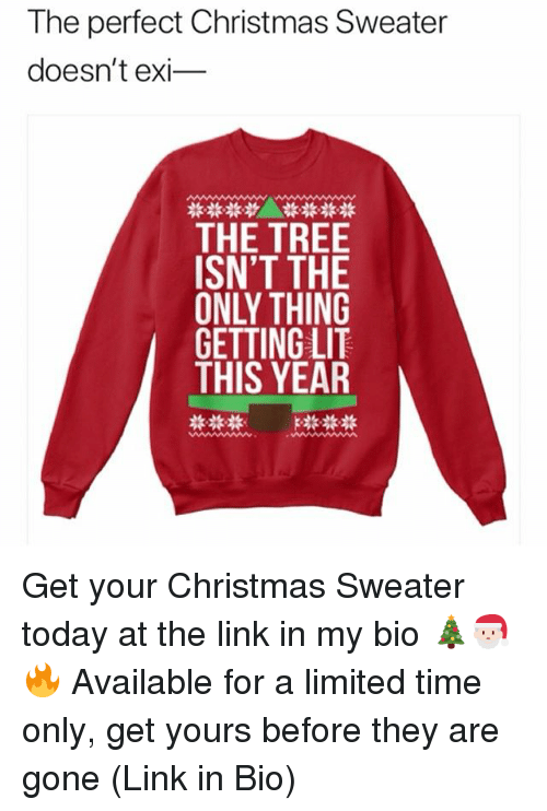 christmas lit and memes the perfect christmas sweater doesnt exi_ the