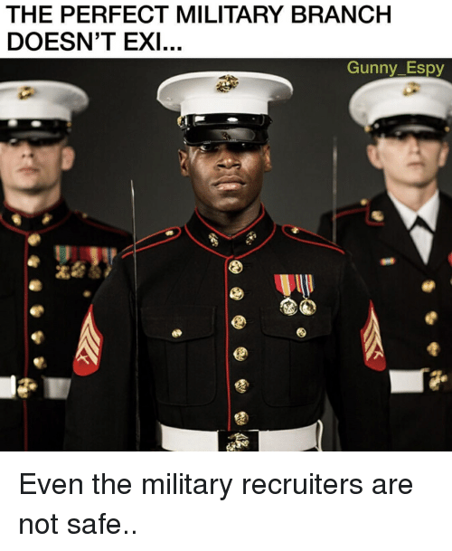 Best Military Branch >> The Perfect Military Branch Doesn T Exi Gunny Espy Even The