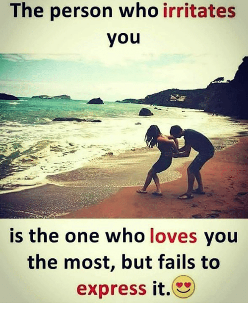 One you the who loves most the Why You