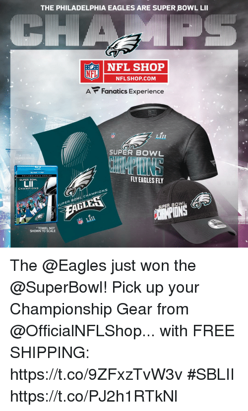 the latest d4a08 83a6b The PHILADELPHIA EAGLES ARE SUPER BOWL LII NFL SHOP NFL ...