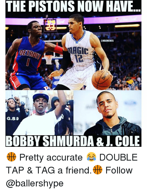 The PISTONS NOW HAVE GS9 BOBBY SHMURDA & COLE 🏀 Pretty
