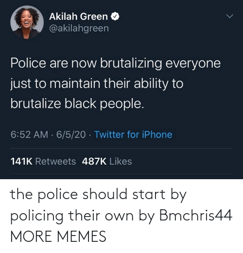 Dank, Memes, and Police: the police should start by policing their own by Bmchris44 MORE MEMES