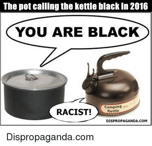 Pot Calling The Kettle Black ~ Post your favorite political meme page grasscity