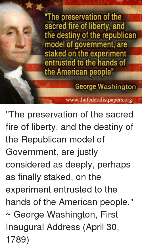 "Destiny, Fire, and Memes: ""The preservation of the sacred fire of liberty ·  """