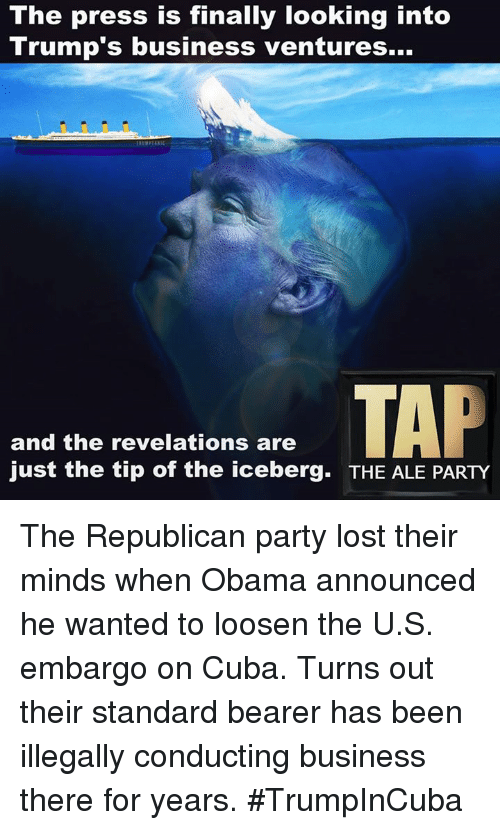 Just The Tip Of The Iceberg