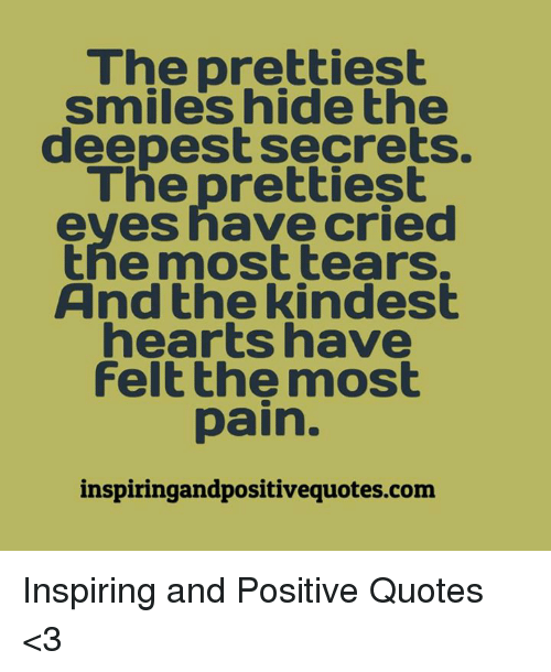 The Prettiest Smiles Hide The Deepest Secrets The Prettiest Eves