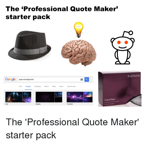Picture Quote Maker Endearing The Professional Quote Maker Starter Pack Google Space Background