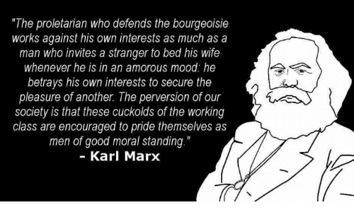 karl marx bourgeoisie and proletariat