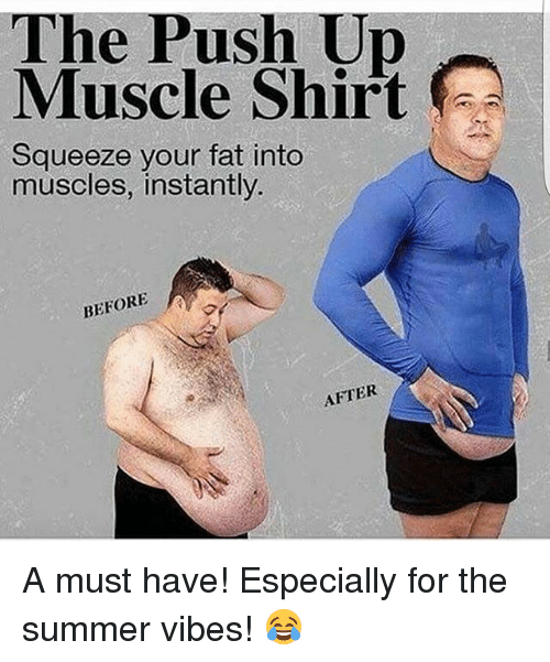 the push up muscle shirt squeeze your fat into muscles 19755410 the push up muscle shirt squeeze your fat into muscles instantly