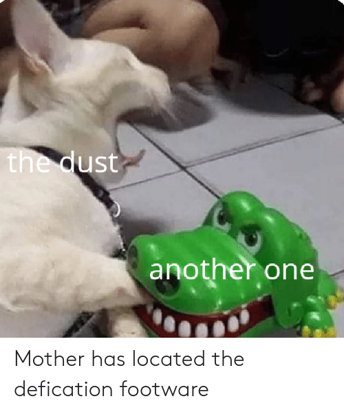 The qUst Another One Mother Has Located the Defication