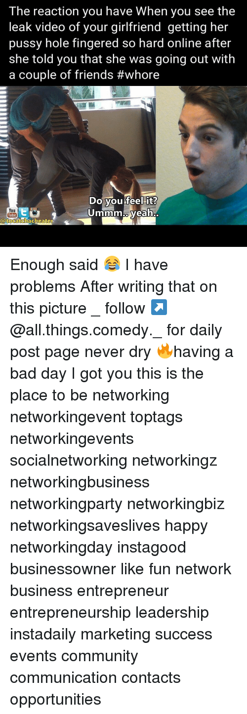 for Social pussy networking your