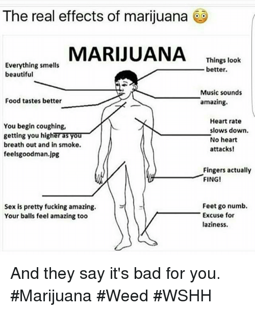 Sexual effects of marijuana