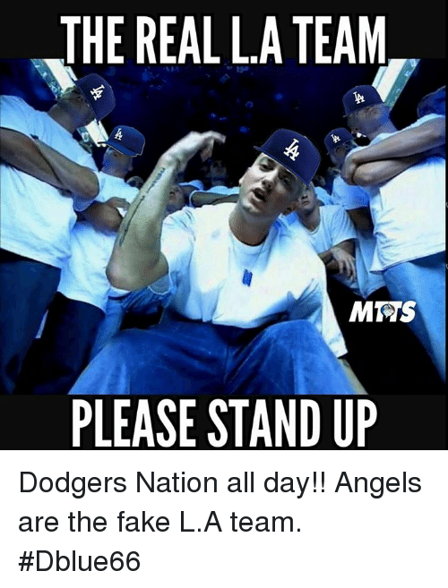 the real la team mrs please stand up dodgers nation 22063190 ✅ 25 best memes about dodgers nation dodgers nation memes