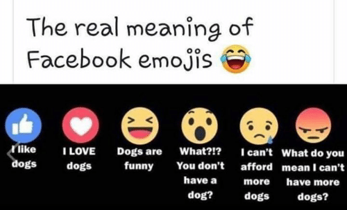 The Real Meaning of Facebook Emojis Like I LOVE I Can't What