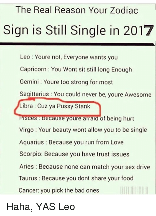 your not so good sex horoscope