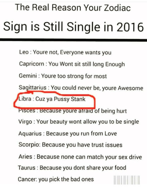 Zodiac signs are amazing sex