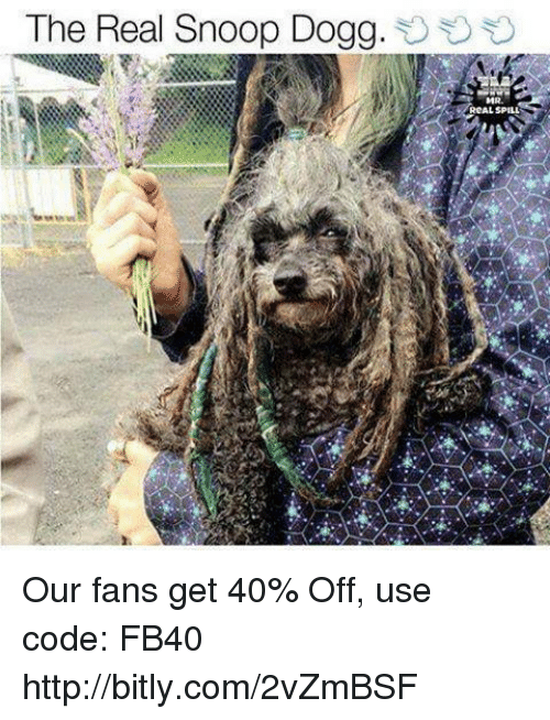 Memes, Snoop, and Snoop Dogg: The Real Snoop Dogg.  RCAL SPILL Our fans get 40% Off, use code: FB40 http://bitly.com/2vZmBSF