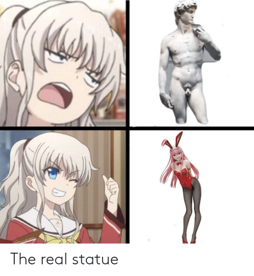 Anime, The Real, and Real: The real statue