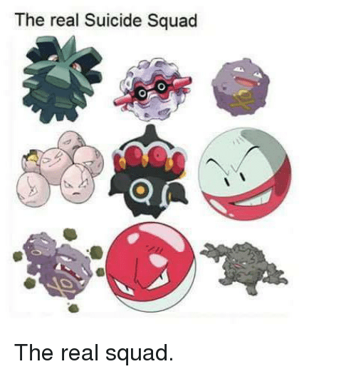 The Real Suicide Squad