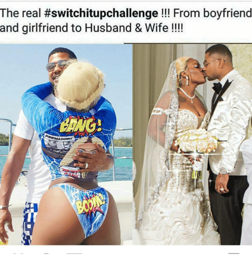 The Real #Switchitupchallenge From Boyfriend and ...