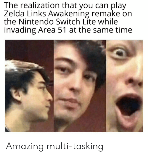 The Realization That You Can Play Zelda Links Awakening