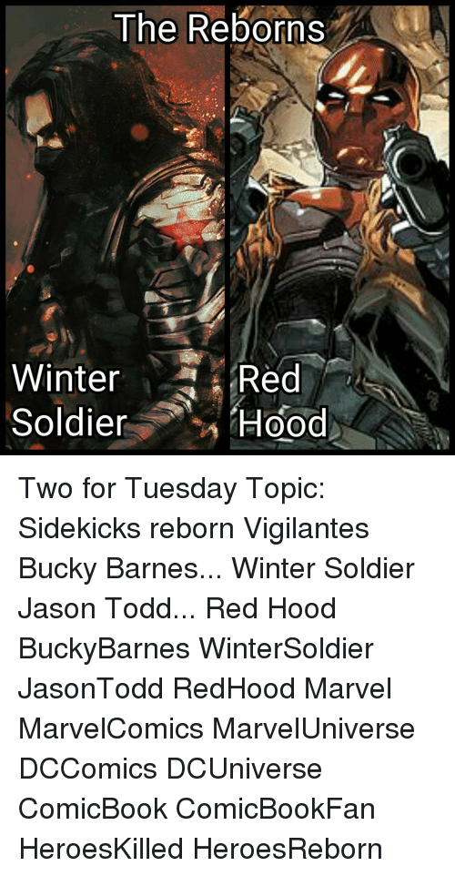 The Reborns Winter Red Soldiers Hood Two for Tuesday Topic