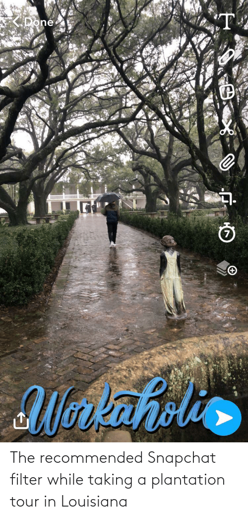 Snapchat, Louisiana, and Accidental Racism: The recommended Snapchat filter while taking a plantation tour in Louisiana