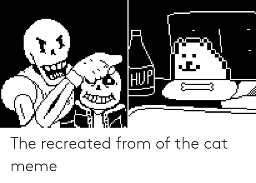 Meme, Reddit, and Cat: The recreated from of the cat meme