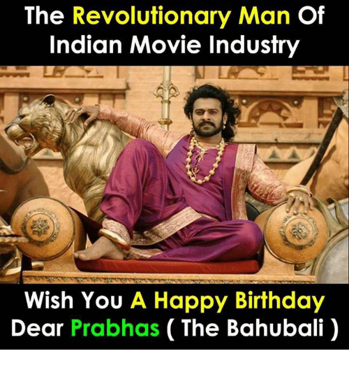 The Revolutionary Man of Indian Movie Industry Wish You a Happy