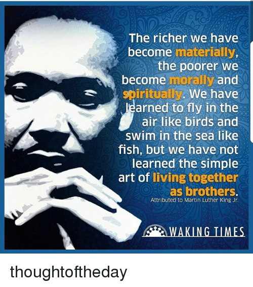 as we become richer we become poorer The gap between the rich and the poor is becoming richer and the poor are growing poorer what are the causes of this what measures can be taken to reduce this problem.