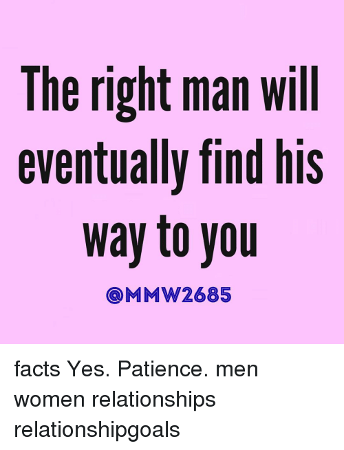 Finding the right man for you