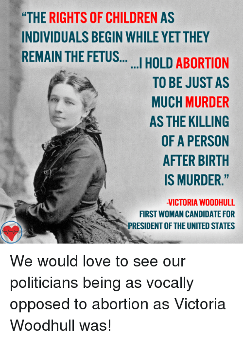 the rights of a fetus
