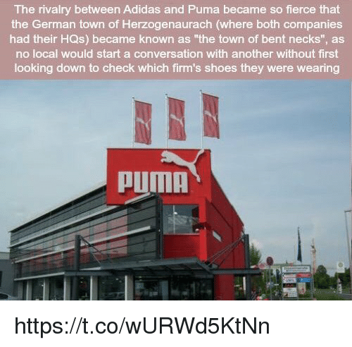 539a42d1c527 The Rivalry Between Adidas and Puma Became So Fierce That the German ...