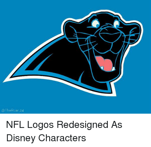 uk availability 1d331 816c5 Memes, 🤖, and Disney Characters  The Roar 24 NFL Logos Redesigned As Disney