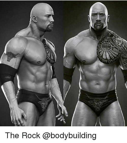 Memes, The Rock, and Bodybuilding: The Rock @bodybuilding