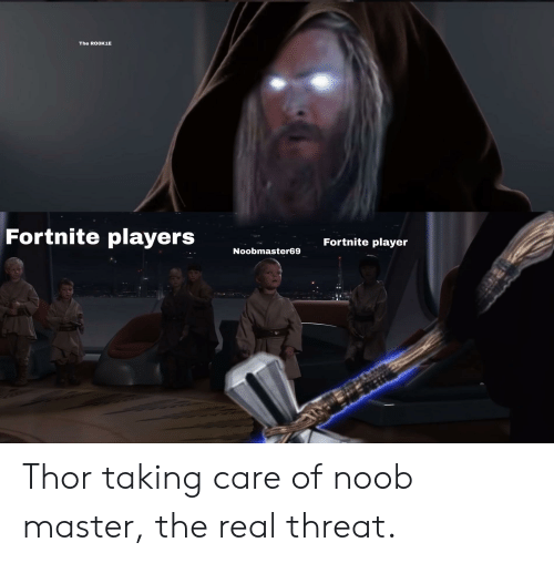 The ROOK1E Fortnite Players Fortnite Player Noobmaster69
