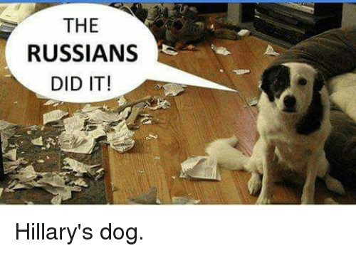 the russians did it hillarys dog 8953138 ✅ 25 best memes about the russians did it the russians did it,Russians Did It Meme