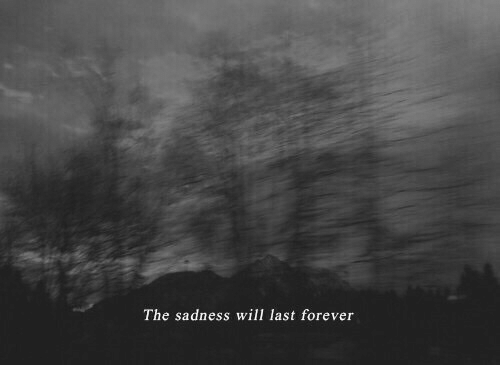 Forever, Will, and Sadness: The sadness will last forever