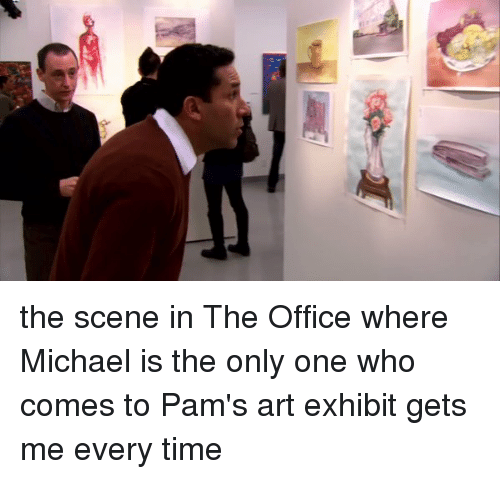 The Office Michael And Scene In Where Is