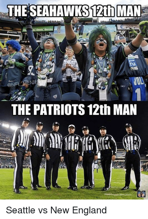 England, Football, and Nfl: THE SEAHAWKS 12th MAN  hing  ME  THE PATRIOTS 12th MAN Seattle vs New England