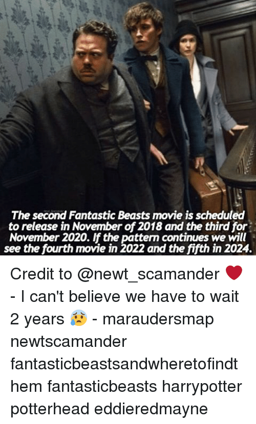 the second fantastic beasts movie is scheduled to release in 9798730 ✅ 25 best memes about movie is movie is memes