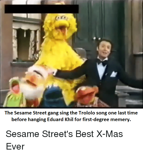 the sesame street gang sing the trololo song one last 29164306 the sesame street gang sing the trololo song one last time before
