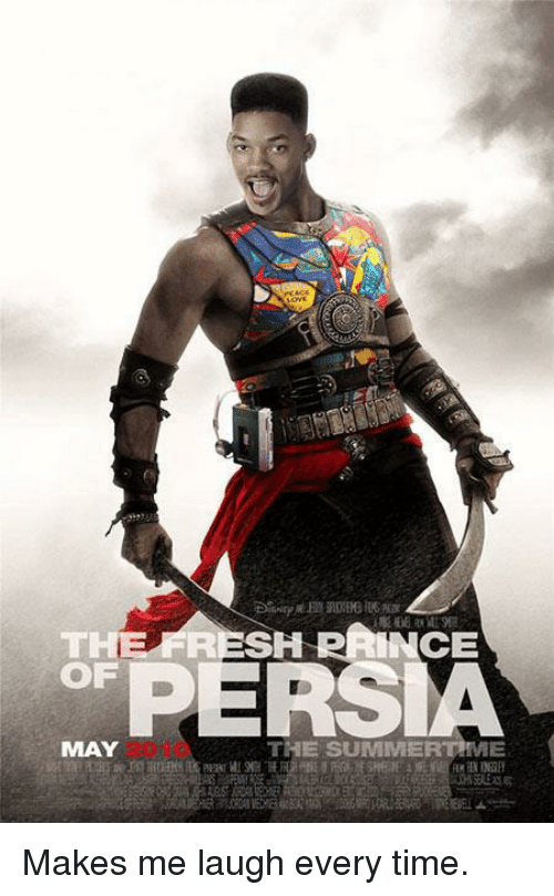 Prince, Summer, and Time: THE SH PRINCE  OF  PERSIA  MAY  THE SUMMER  ME Makes me laugh every time.