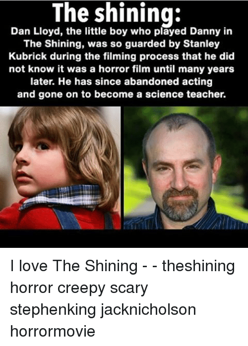 Who Played Danny In The Shining