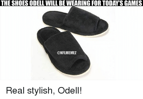 Nfl, Shoes, and Games: THE SHOES ODELL WILL BEWEARING FOR TODAYS GAMES  CONFLMEMEZ Real stylish, Odell!