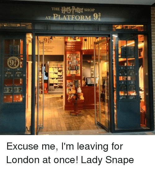 928c9ff74565 The SHOP AT PLATFORM Excuse Me I m Leaving for London at Once! Lady ...