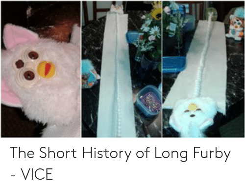 The Short History of Long Furby - VICE | Furby Meme on ME ME