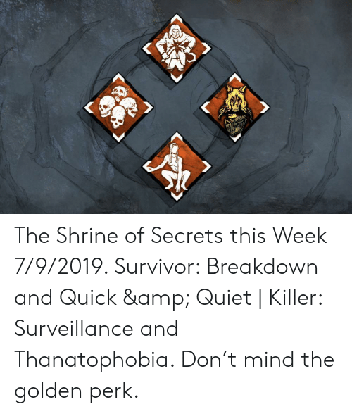 The Shrine of Secrets This Week 792019 Survivor Breakdown and Quick